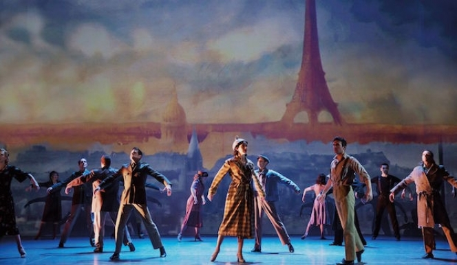 Coming to London's Dominion Theatre An American In Paris:  original Broadway cast photo by Matthew Murphy