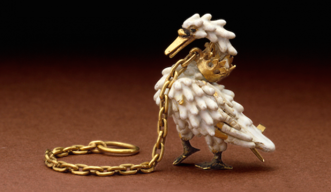 The Dunstable Swan Jewel at the V&A