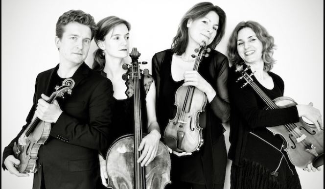 The Tetzlaff Quartet, performing at Wimbledon International Music Festival features violinist Christian Tetzlaff, who also gives a solo recital. Photograph: Georgia Bertazzi