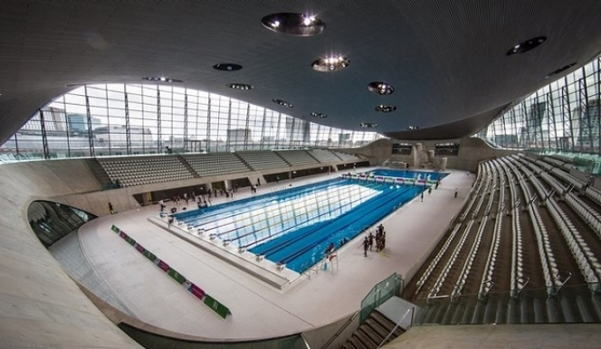 One cool pool: swim in the Olympic stadium