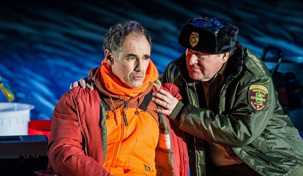 London transfer for Nice Fish: Jim Lichtscheidl and Mark Rylance