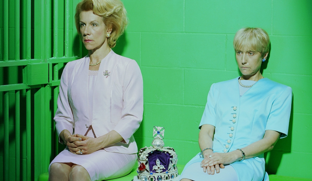 Mary Stuart: Juliet Stevenson and Lia Williams photographed by Miles Aldridge