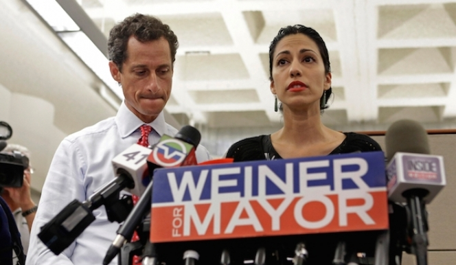 Scene from the documentary Weiner