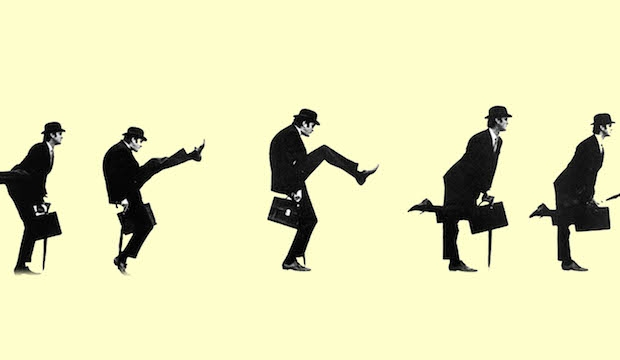 Ministry of silly walks, John Cleese