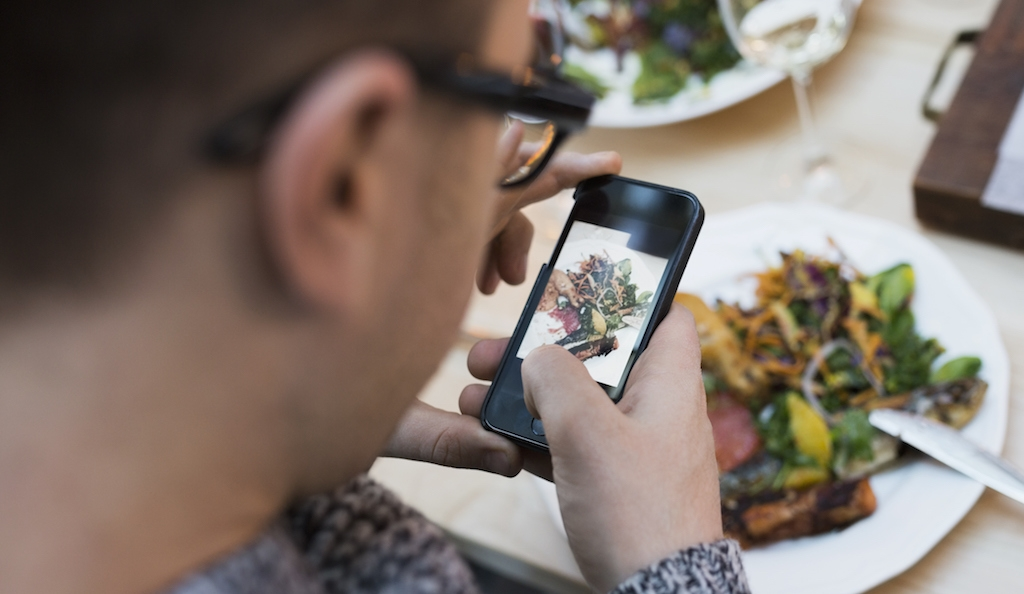 Is Instagram spoiling dining out?