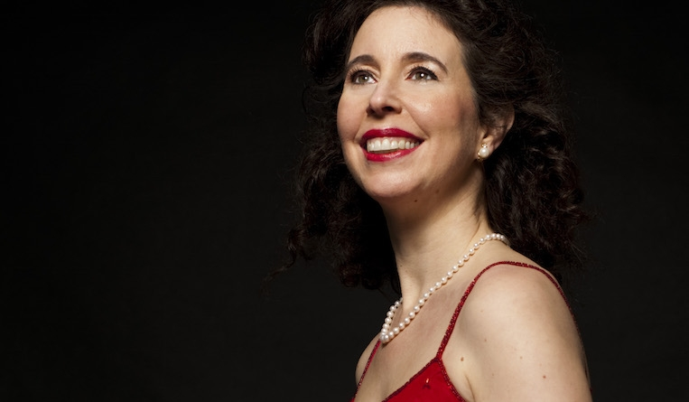 Angela Hewitt is the soloist in Beethoven's Piano Concerto No 4 at Cadogan Hall on 26 February 2017. Photograph: Bernd Eberle