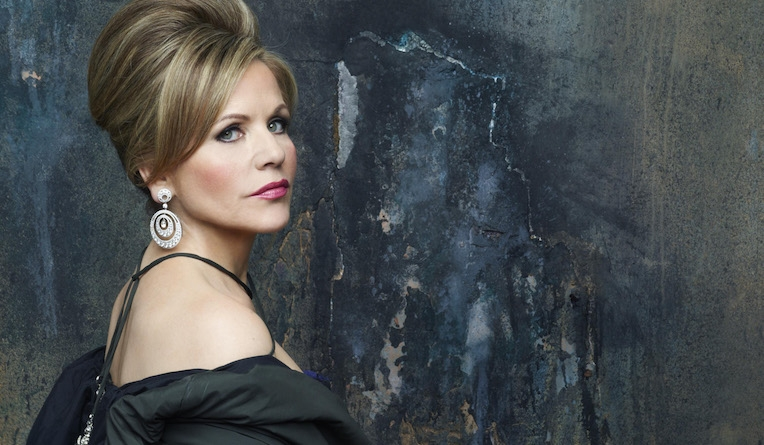 Renée Fleming sings the role of the sultry Marschallin in Der Rosenkavalier