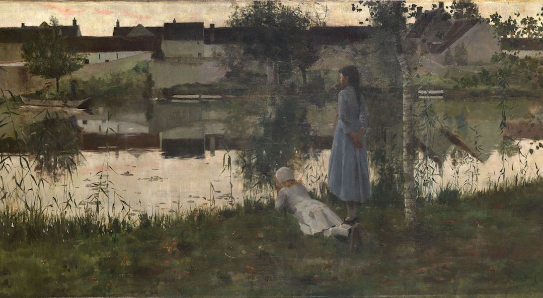 William Stott of Oldham's Le Passeur (The Ferry) 1882, Tate 2016