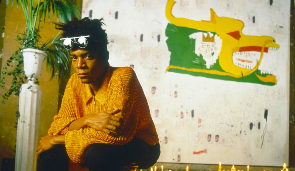 Jean-Michel Basquiat photo courtesy of Barbican Gallery