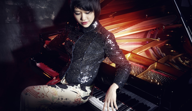 Yuja Wang made her breakthrough with the Tchaikovsky concerto she plays in London. Photograph: Norbert Kniat