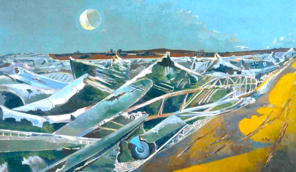 Totes Meer Paul Nash © Tate Britain