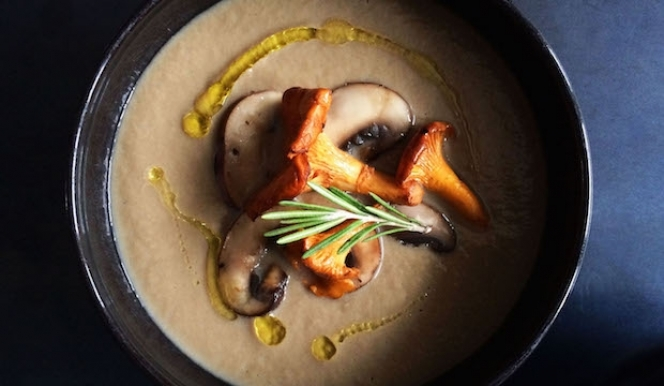 Stephanie Achar: Wild Mushroom Soup recipe
