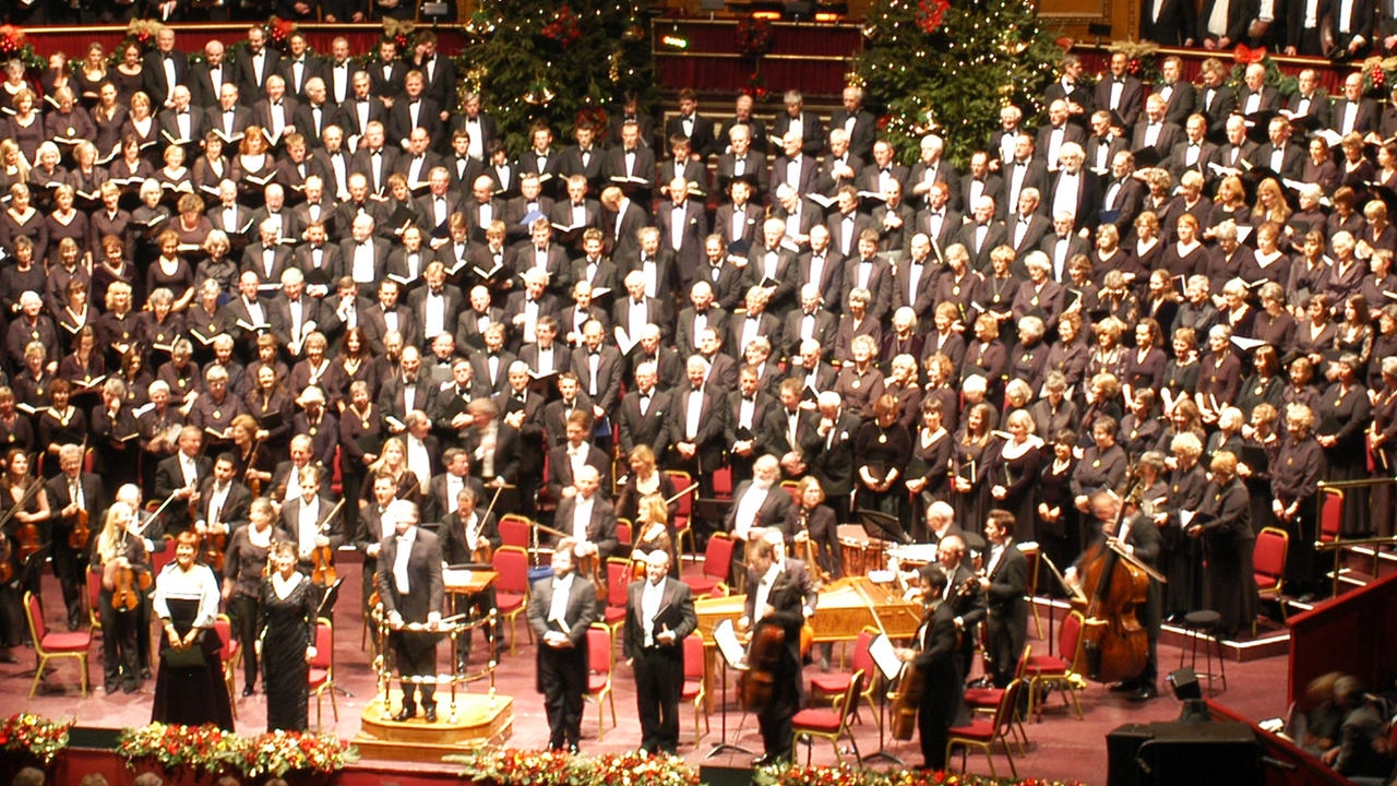 Handel's Messiah, London 2016, Royal Albert Hall