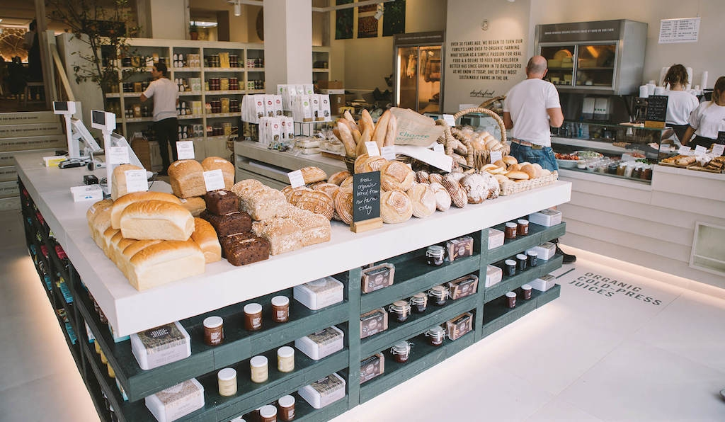 For Notting Hill shoppers: Daylesford Organic