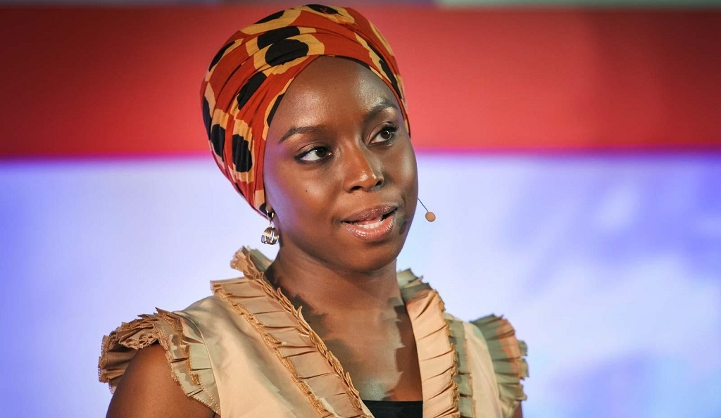 Chimamanda Ngozi Adichie speaking at TED in 2009
