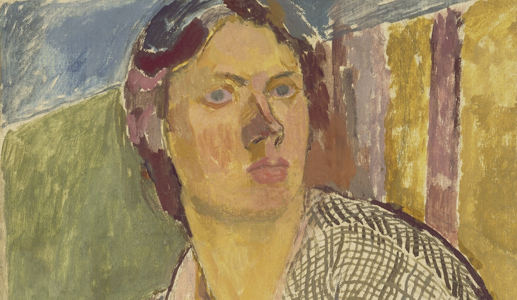Vanessa Bell, Self – Portrait, ca. 1915, Oil on canvas laid on panel, Yale Center for British Art