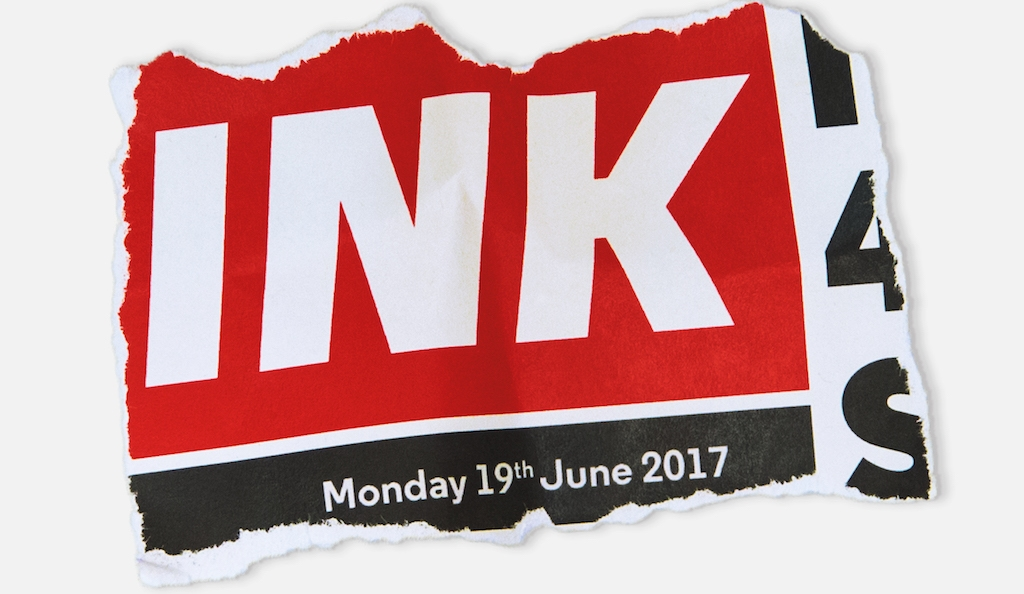 INK poster via Almeida Theatre