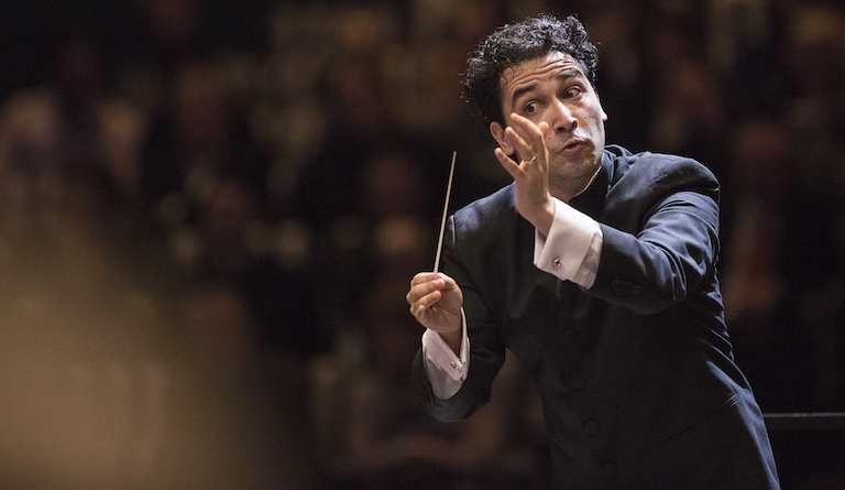 Andrés Orozco-Estrada is principal guest conductor of the London Philharmonic Orchestra. Photograph: Werner Kmetitsch