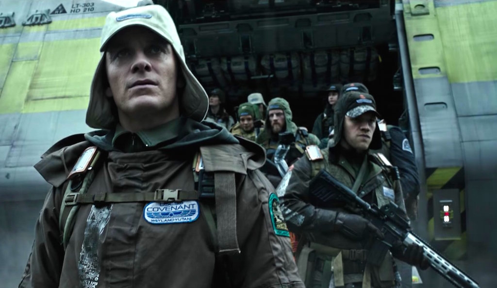 Michael Fassbender - Alien Covenant new trailer