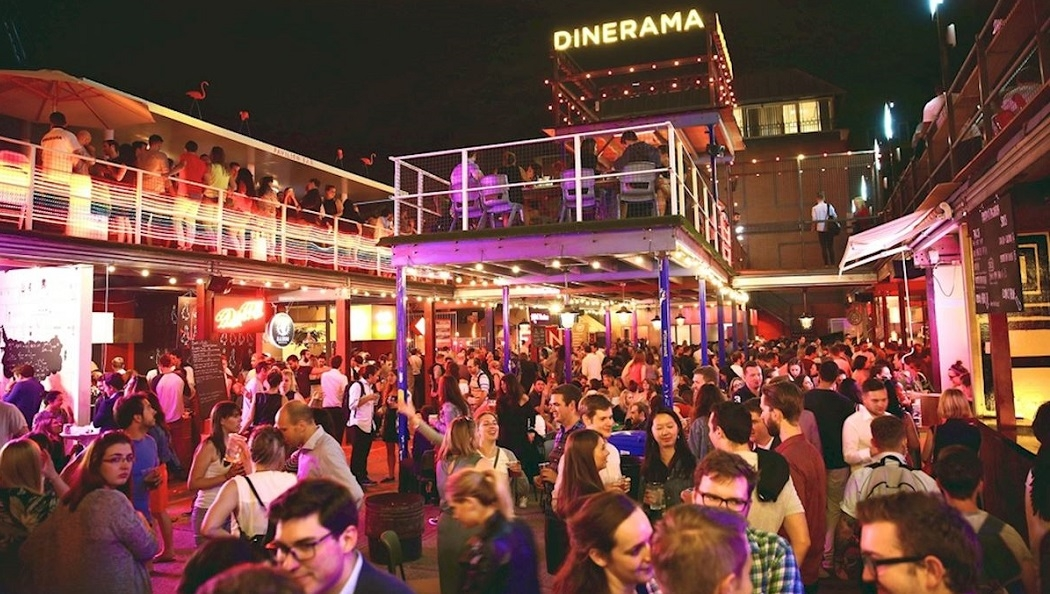 Dinerama in Shoreditch, open Thursday - Sunday