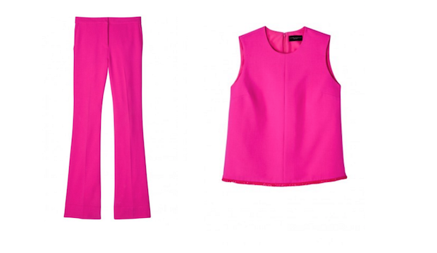 For Women: The pink power suit
