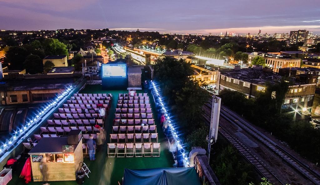 The Best Summer Pop Up Outdoor Cinema Screens In London