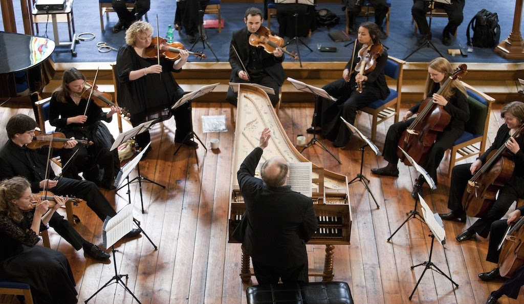 Orchestra of the Dunedin Consort. Photo: © David Barbour