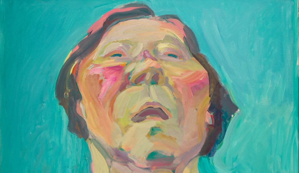 Maria Lassnig, Self-portrait with Hare, 2003,  © Maria Lassnig Foundation