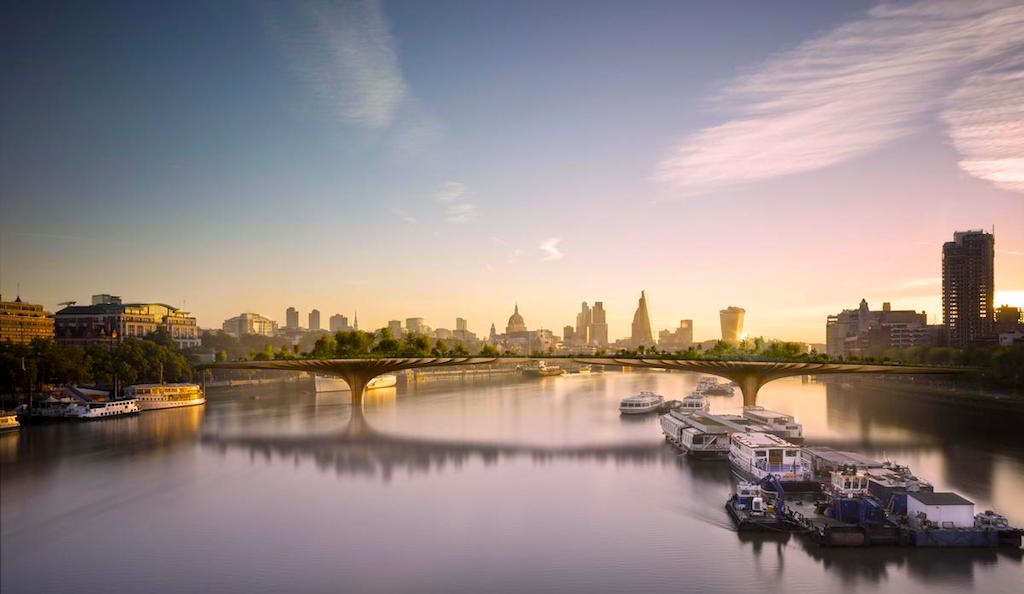 Heatherwick Studio, Garden Bridge London cancelled garden bridge scrapped