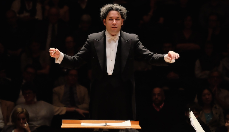 Gustavo Dudamel is the LA Phil's dynamic music director. Photo: Mark Allan