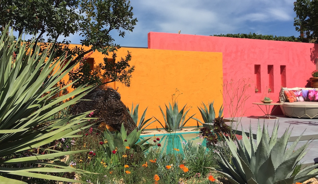 Inland Homes: Beneath a Mexican Sky, Chelsea Flower Show