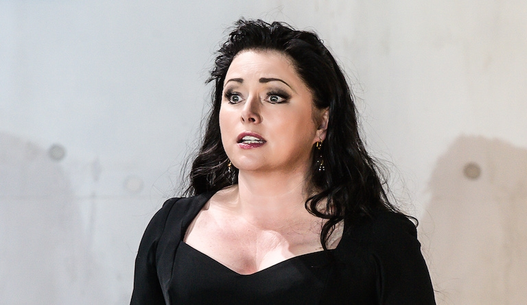 Rebecca Evans is considered 'perfection' in the title role of Rodelinda. Photo: Clive Barda