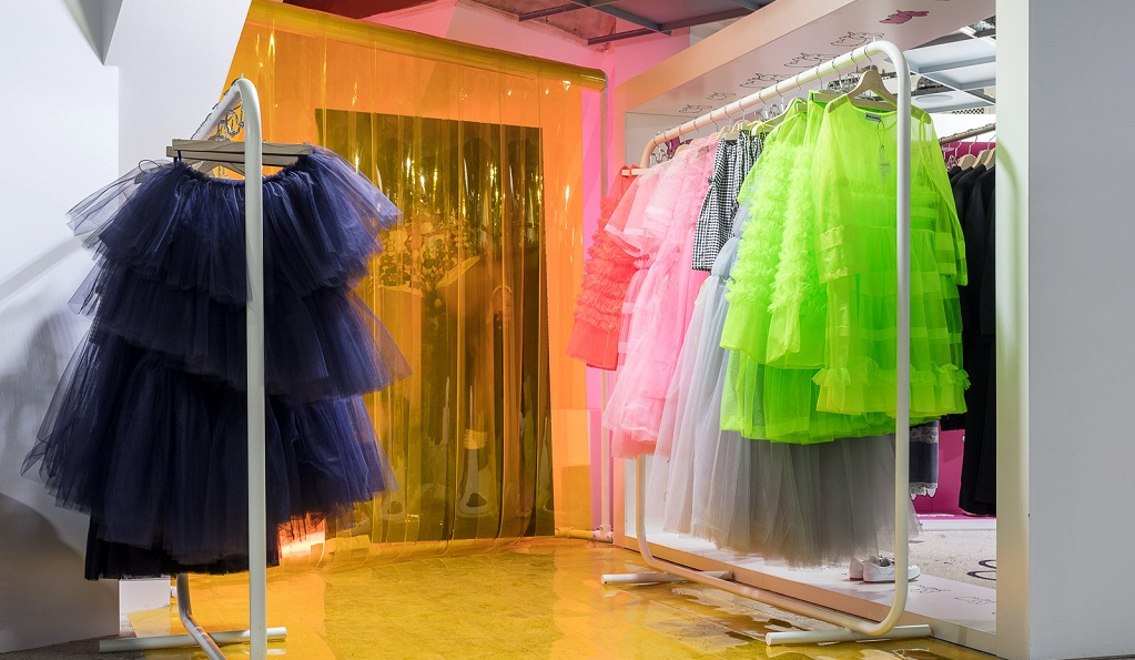 The best fashion boutiques in London: Sales starting. Visit Molly Goddard at Dover Street Market