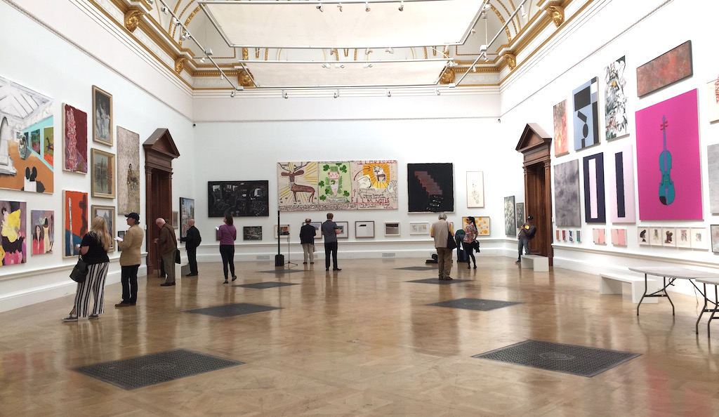 Summer Exhibition 2017, Royal Academy of Arts. Image courtesy of Culture Whisper