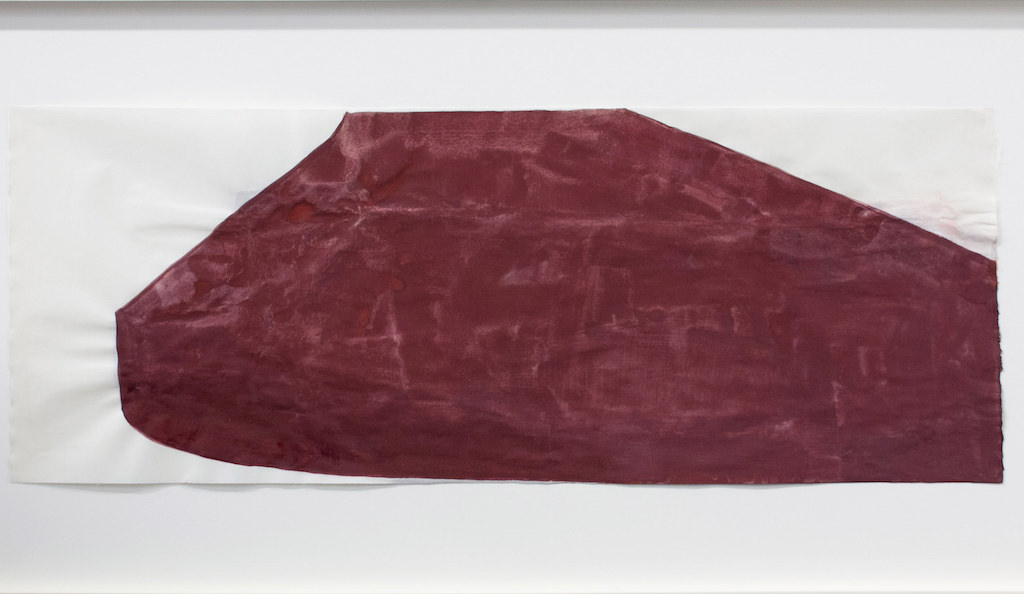 Suzan Frecon, 'Red Oxides Presenting Enigmas', 2014. Photo courtesy of the artist and David Zwirner Gallery, New York.