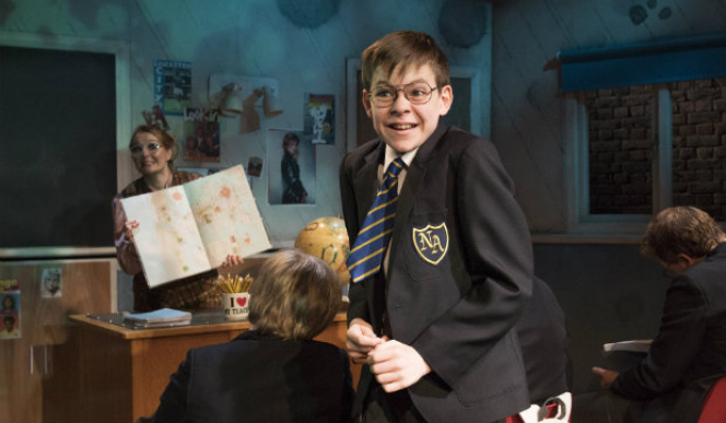 The Secret Diary of Adrian Mole Aged 13 ¾ - The Musical review, London