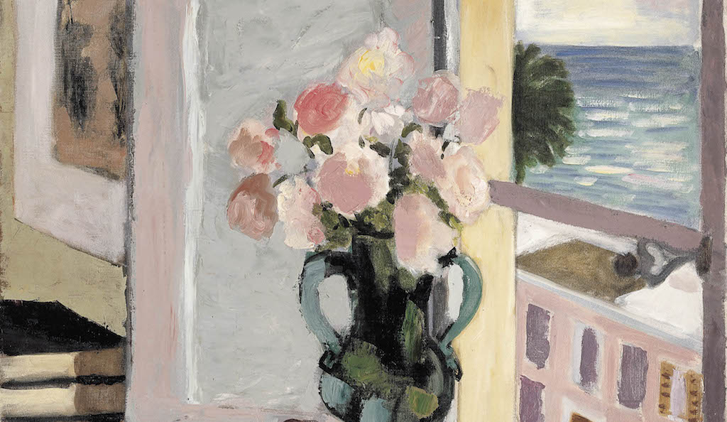 Henri Matisse, Safrano Roses at the Window, 1925