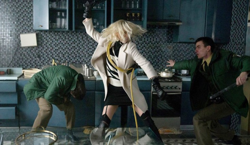 Atomic Blonde film review [STAR:3]