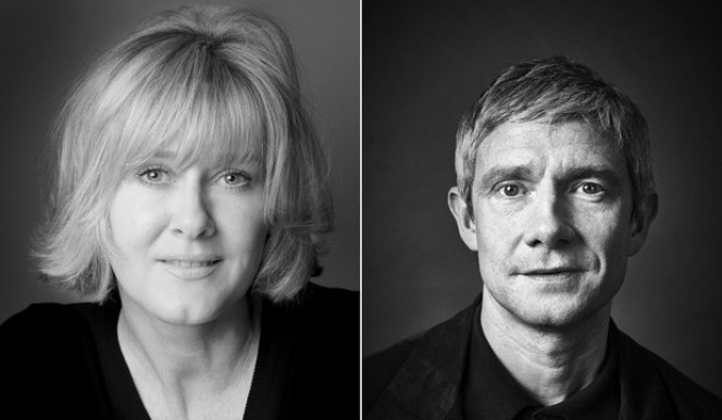 Sarah Lancashire and Martin Freeman: Labour of Love, London 2017