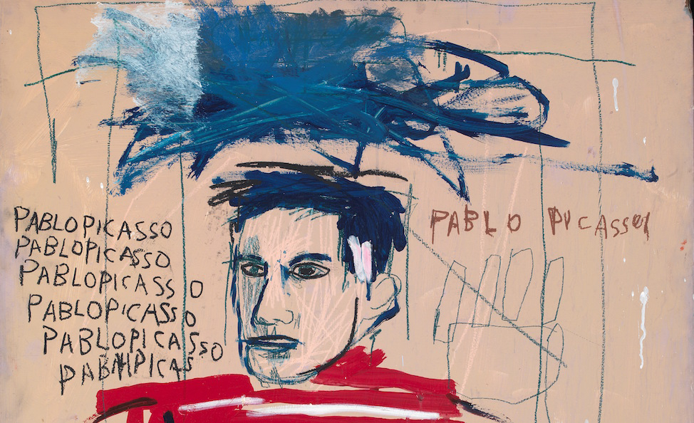 Jean-Michel Basquiat, Untitled (Pablo Picasso), 1984, Private collection, Italy. © The Estate of Jean-Michel Basquiat. Licensed by Artestar, New York