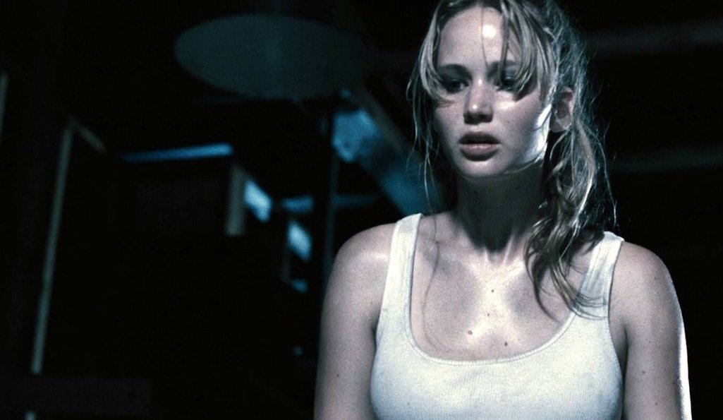 Jennifer Lawrence in the Mother! movie