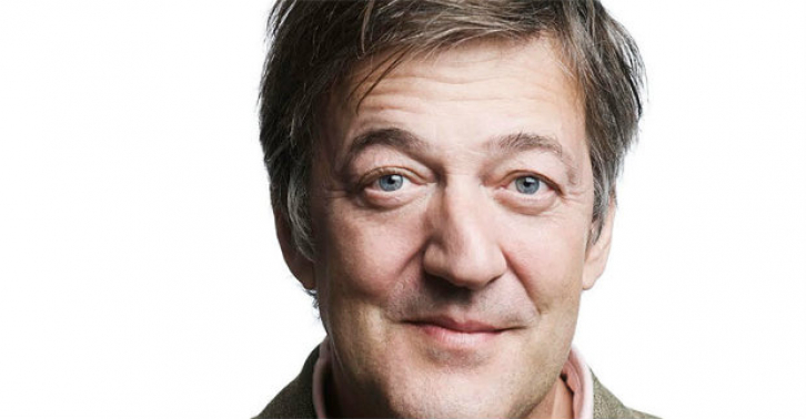 Stephen Fry gives a pre-show talk at A Woman of No Importance
