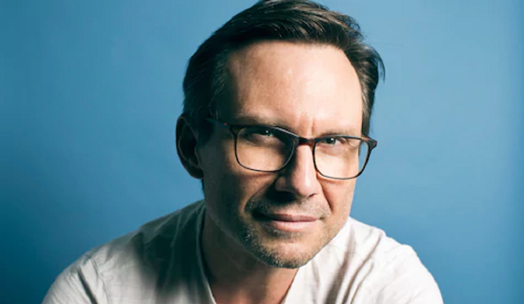 Christian Slater. Photo by Christopher Wahl