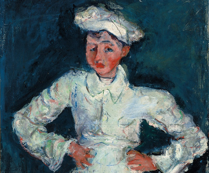 The Pastry Cook, 1925, Chaim Soutine ©Courtauld Gallery, The Lewis Collection.