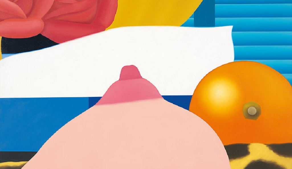 Bedroom Painting #4, 1968, oil on canvas, 36 × 60 inches (91.4 × 152.4 cm) © The Estate of Tom Wesselmann/Licensed by VAGA, New York