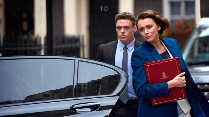 Richard Madden and Keeley Hawes star in Bodyguard, BBC