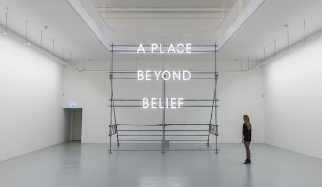 © Nathan Coley, A Place Beyond Belief, 2012