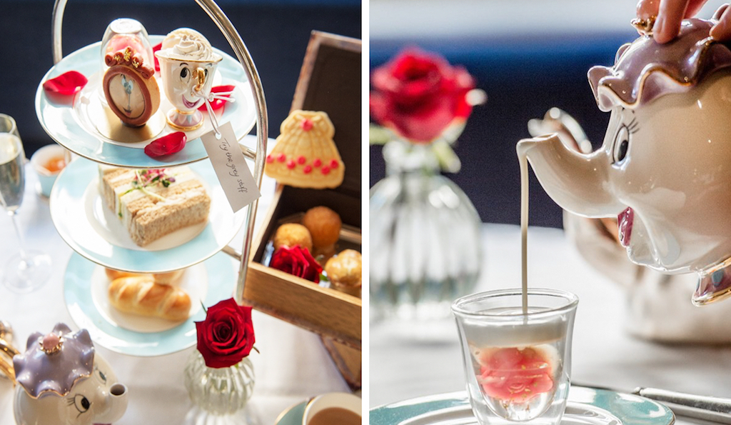 Tale as old as time: Beauty and the Beast afternoon tea, the Kensington Hotel