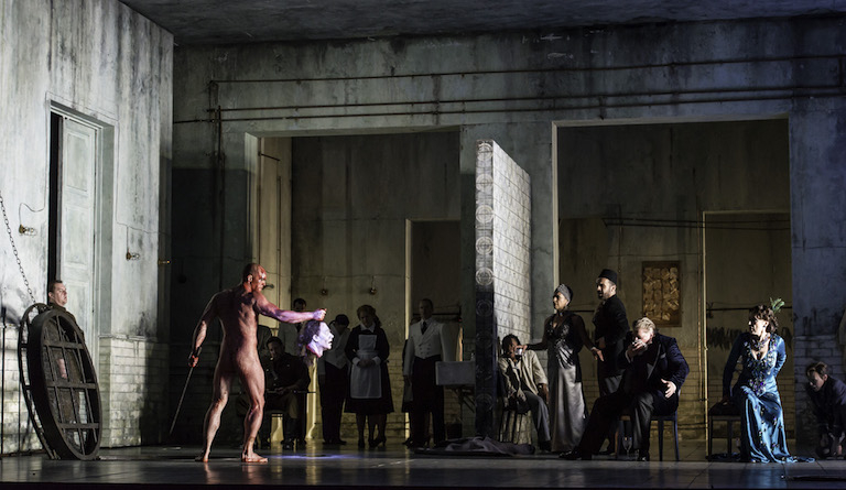 Salome is based on Oscar Wilde's play. Photo: Clive Barda