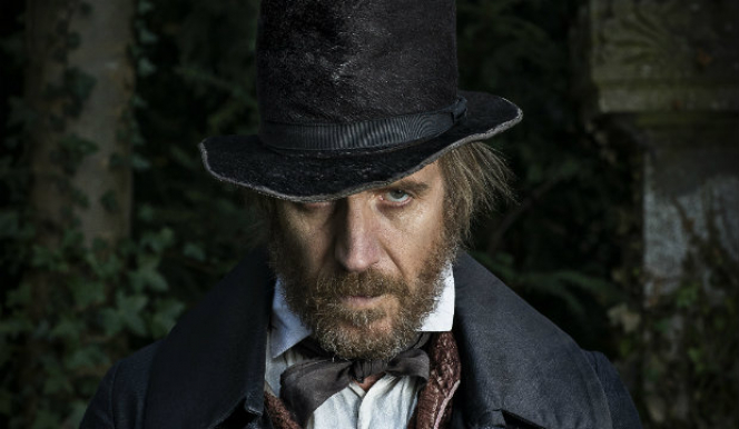 Rhys Ifans: A Christmas Carol, Old Vic Theatre London. Photo by Helen Maybanks